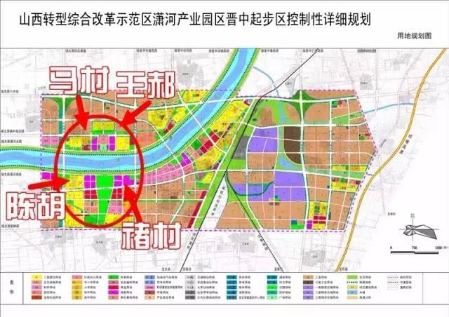长寿区盐井村规划图
