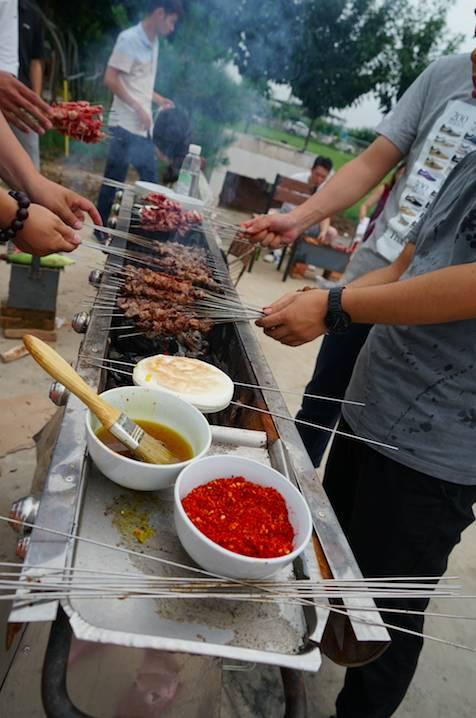 【绿岛庄园游记】吃烤肉,玩狼人杀的一天