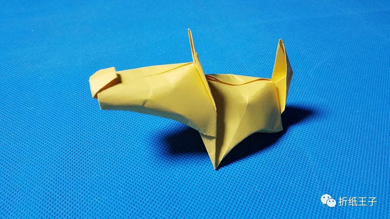 纸蝴蝶的折法 折纸王子折纸教程大全