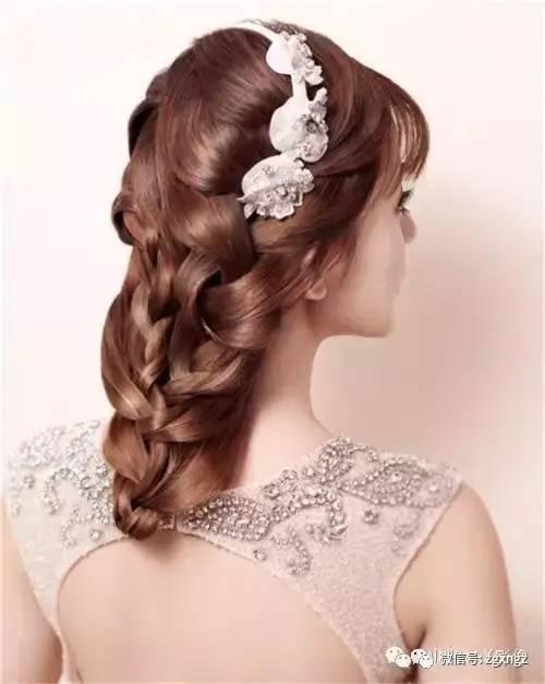 精心打造的晚宴新娘造型,你喜欢哪款晚宴新娘发型图片图片