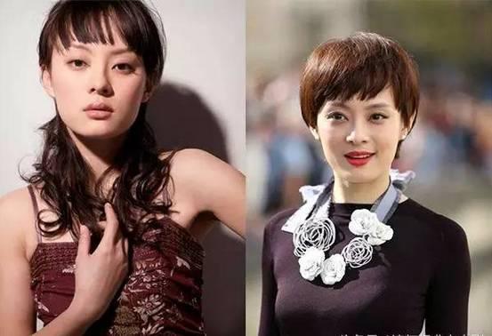 论女星发型的重要性,短发baby不再是女神,长发刘涛没有了总攻气