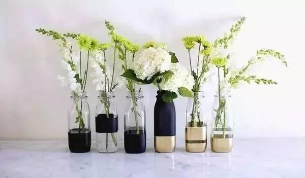 简单diy花盆手绘图案
