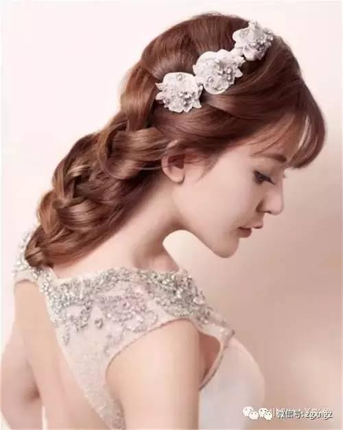 晚宴新娘发型图解分享展示图片