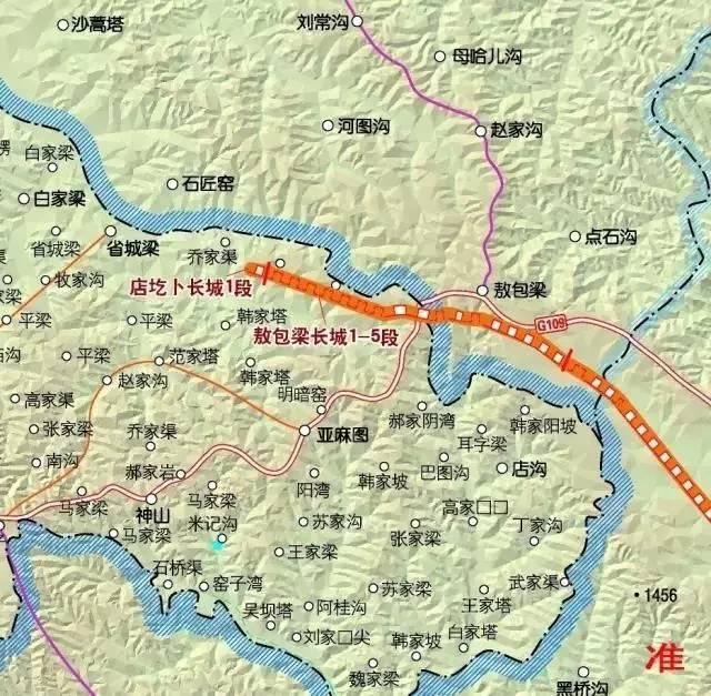 【涨知识】不要羡慕北京的八达岭, 东胜也有中国最古老的长城之一 —