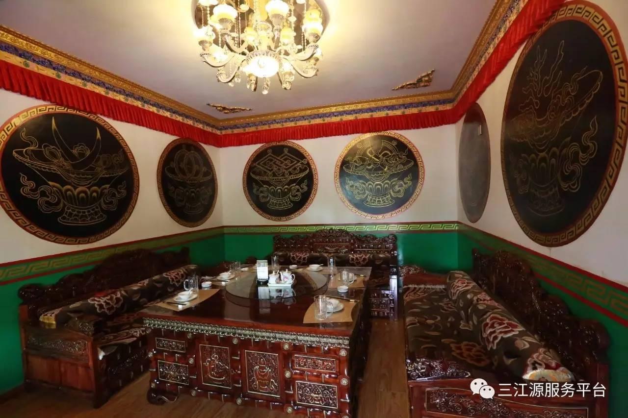 中餐,快餐,茶艺于一体的小型餐饮,内设包间,纯正口味,藏式情调,所付图片