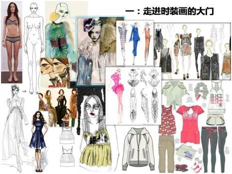 网络课程 | 时装画手绘课程(初级班)