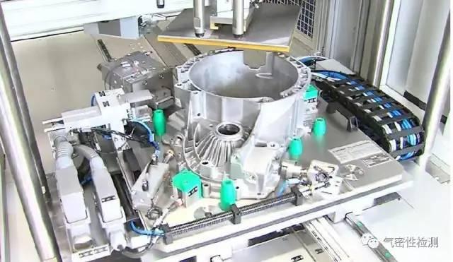 发动机变速箱壳体的泄漏测试原理及应用
