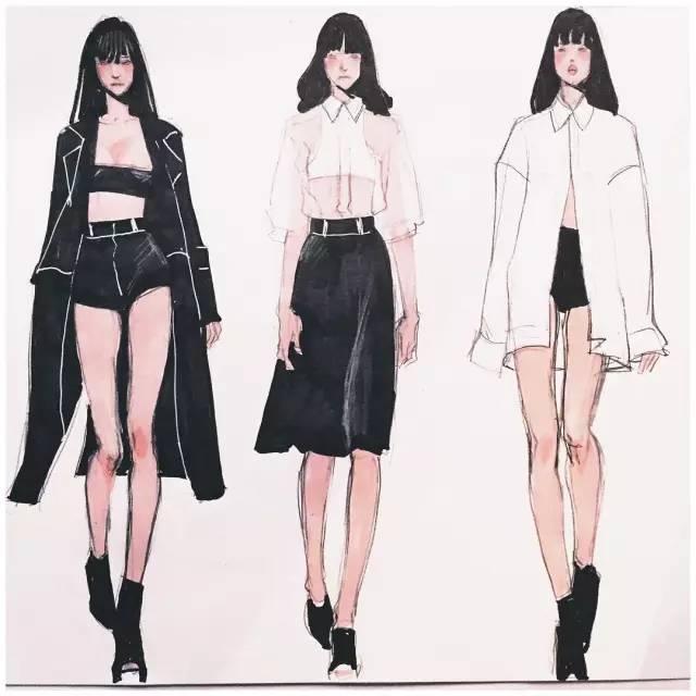 模特的身材比例,稳健的台步,个性又不失简约的时尚,堪比一场大型国际
