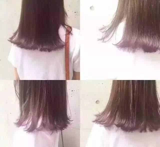 【裙摆染发】在头发里藏着梦幻的彩虹图片