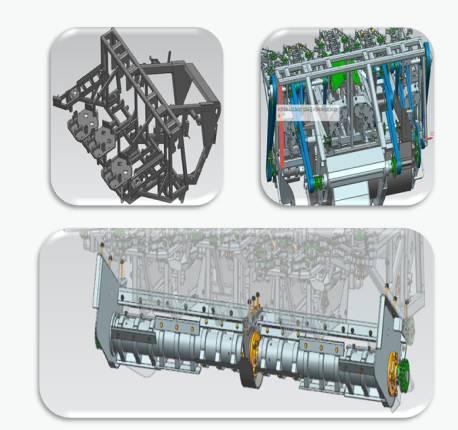 小汽车前减震器结构图