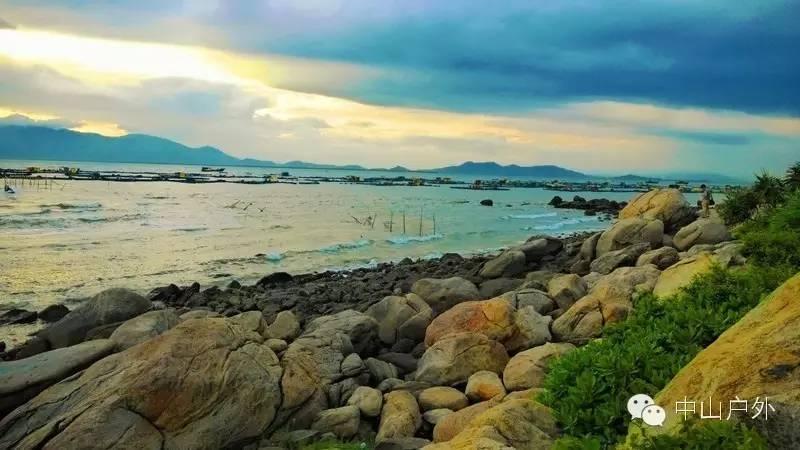 7月15日-16日阳江海陵岛北洛湾,马尾岛海岸线穿越,露营,十里银滩观景