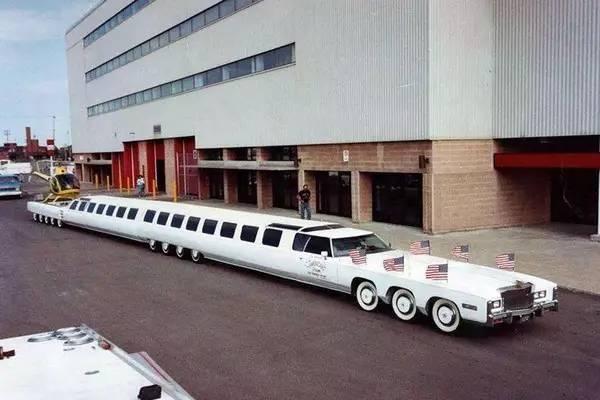 世界上最长的车