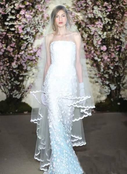 新娘头纱的分类图片