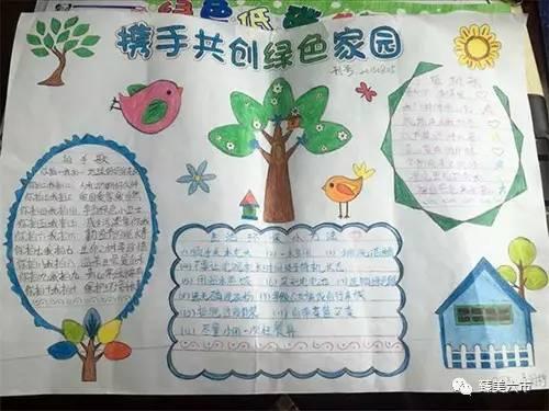 六市学校采用手抄报,黑板报,宣传栏进行宣传