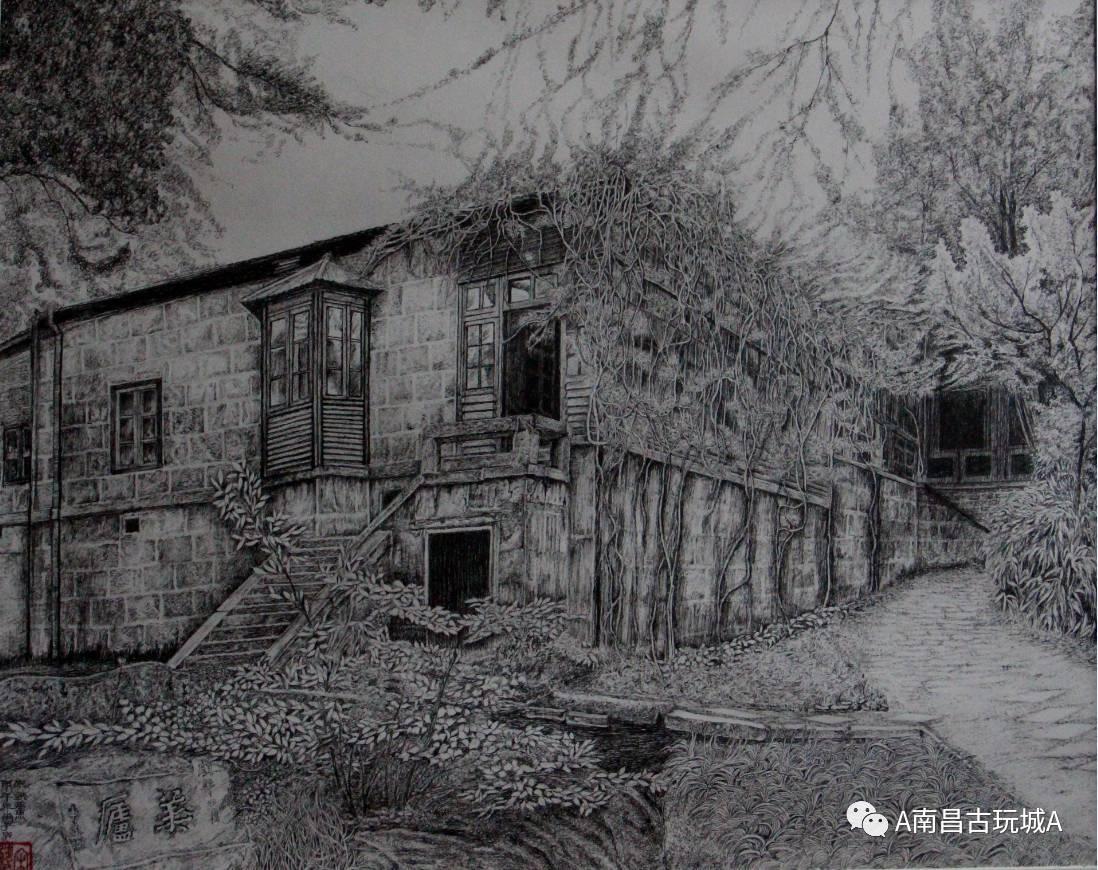 庐山训练营钢笔手绘