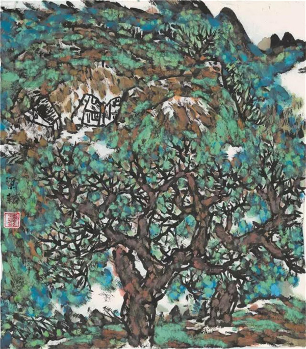 中国著名艺术家梁耘作品欣赏