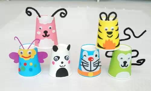 幼儿园纸杯创意手工制作--幼师必备