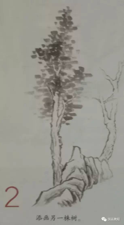 树叶手工制作图片大全山水画