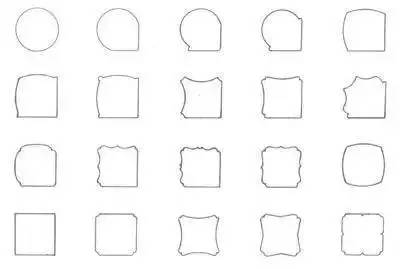 扁圆形和扁方形的腿足多用在案形结体的家具上,如二人凳,炕案,酒桌