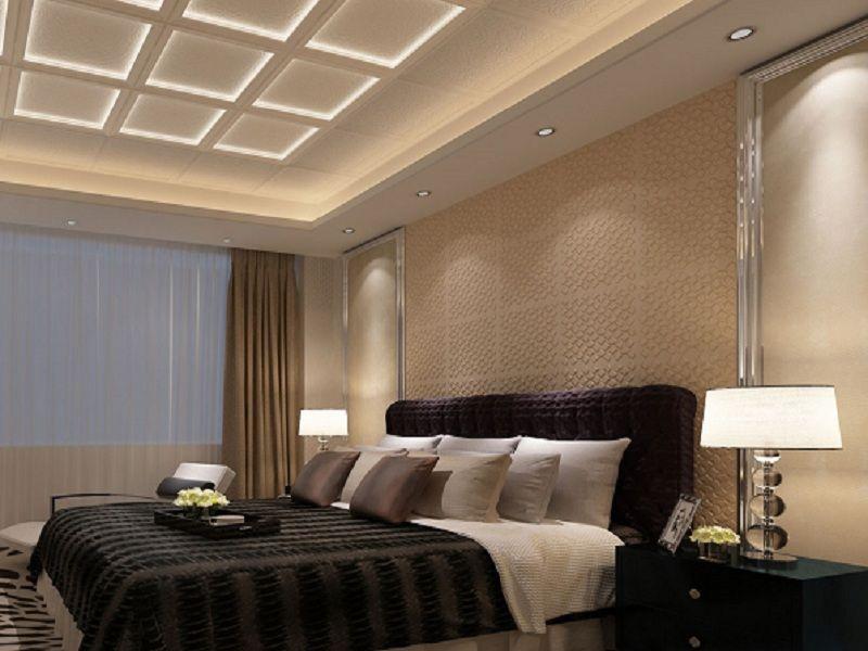 卧室集成墙面装修效果图