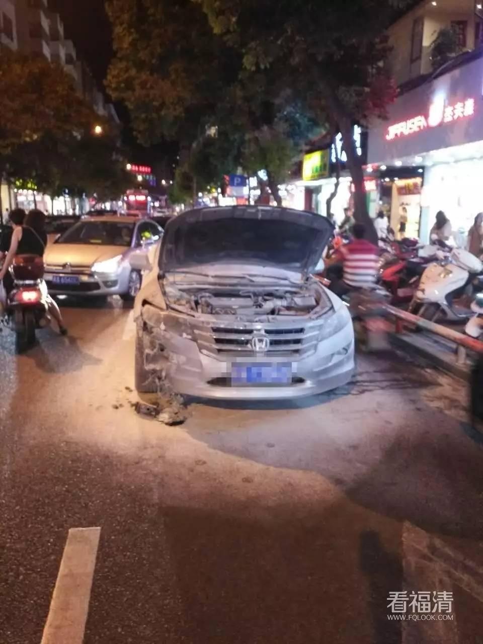 汽车 正文  车牌号当然马赛克了 2017年7月11日晚,福清佳源超市路段一