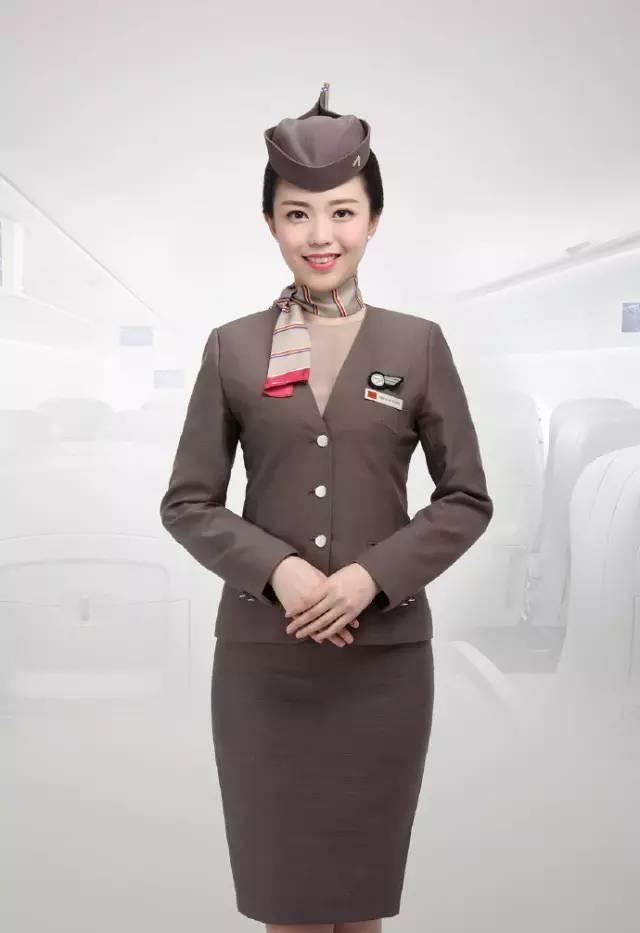 亚空姐照片_韩国韩亚航空