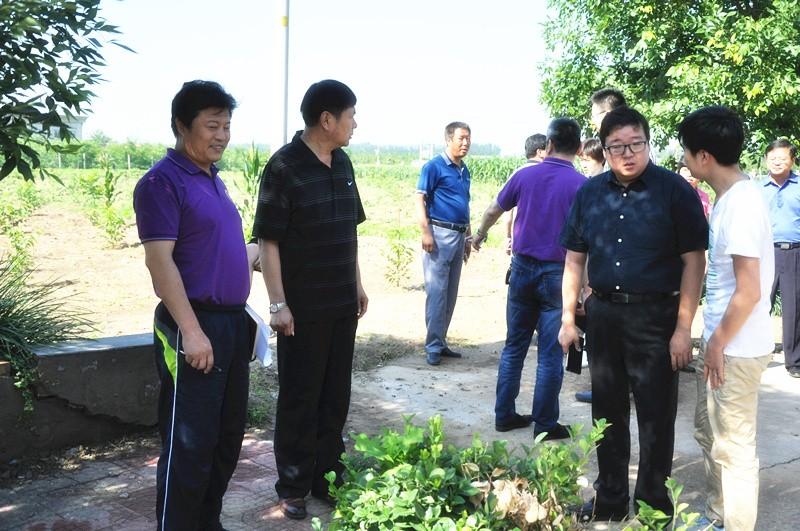 于家务乡领导带队,对8个创城重点村进行拉练检查