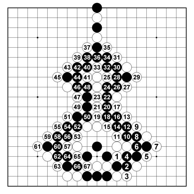 围棋趣味征子宝胡芦动态图图片