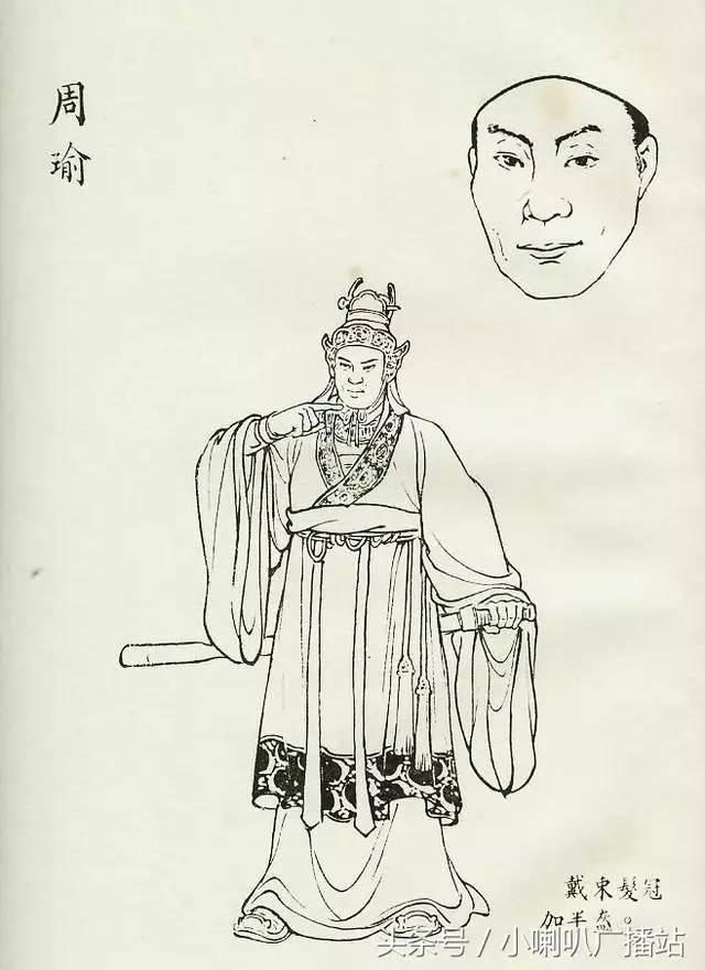 【书里画外】 老版三国演义人物造型图,经典