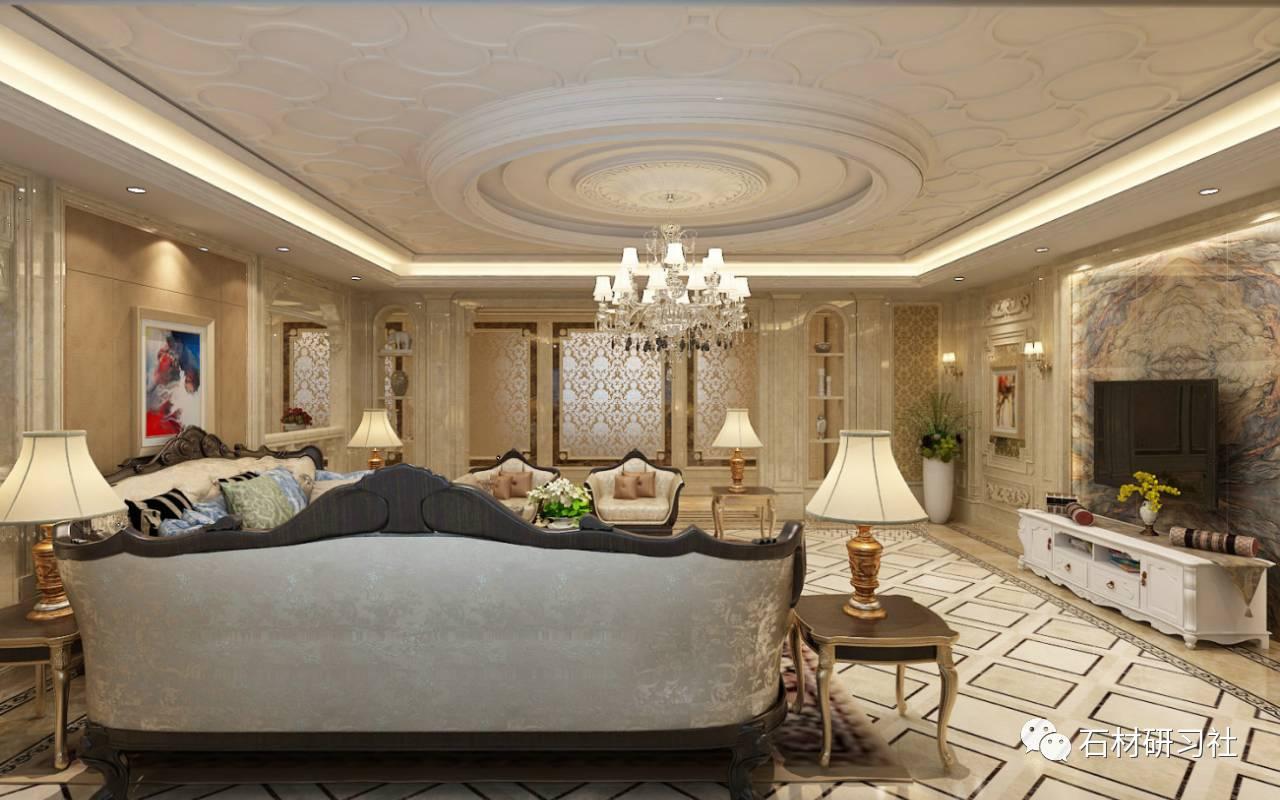 欧式大理石别墅如何设计?看案例!