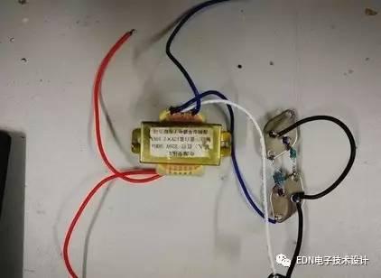 变器将12v的直流电转变成220v的交流电请问需要哪些电子元器件 怎图片
