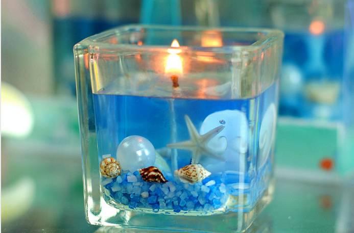 水晶蠟燭diy, 海洋風項鏈diy圖片