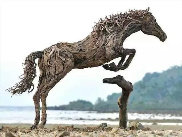 diy木头动物