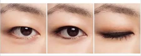 酱酱建议,肿眼泡或单眼皮妹子眼线要稍微粗一点,但其实不管怎么粗最后