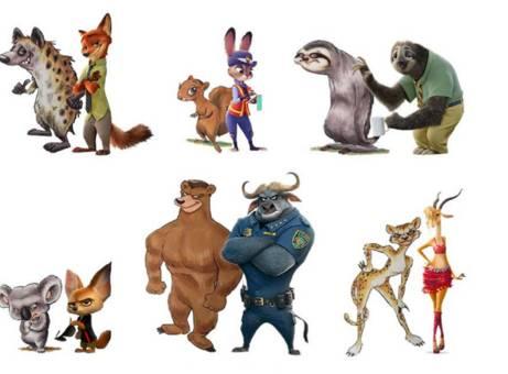 另外,原告的动物都没有穿衣服,而迪士尼的角色衣服设计很精细.