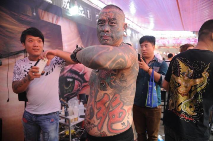 中国第一纹身大师_中国纹身第一人_排行榜大全