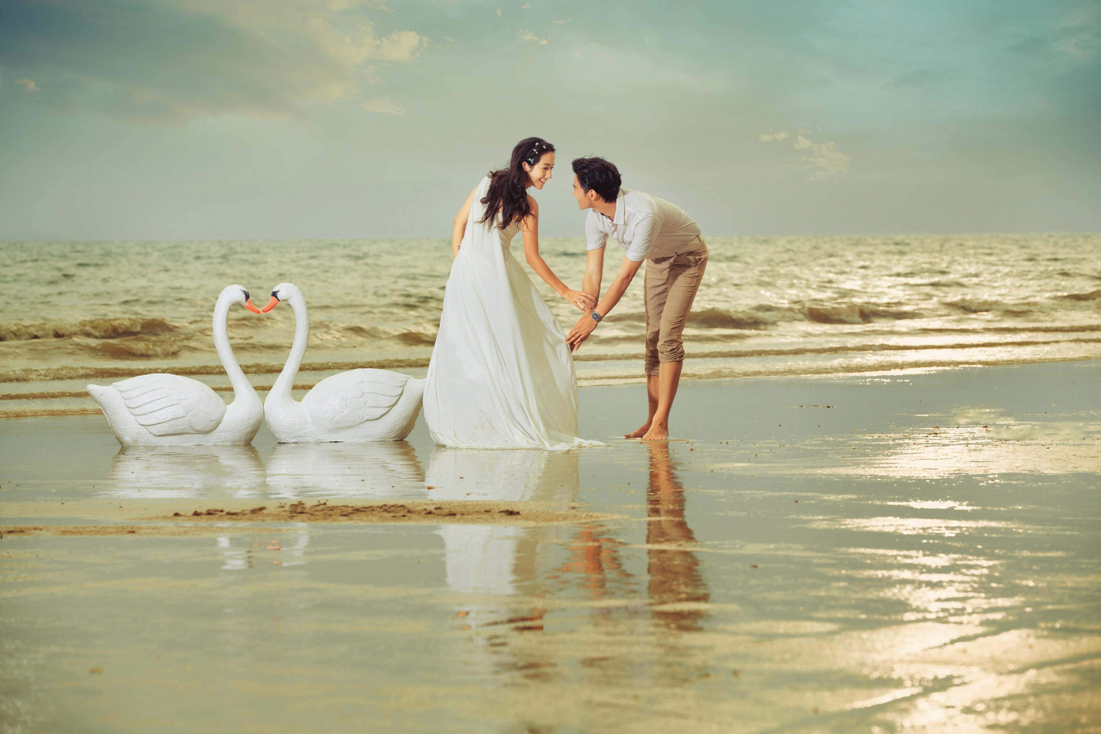2017流行的婚纱照有哪些风格 郑州艾维美婚纱摄影