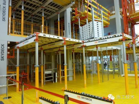 【施工技术】国外部分建筑模板和支承系统
