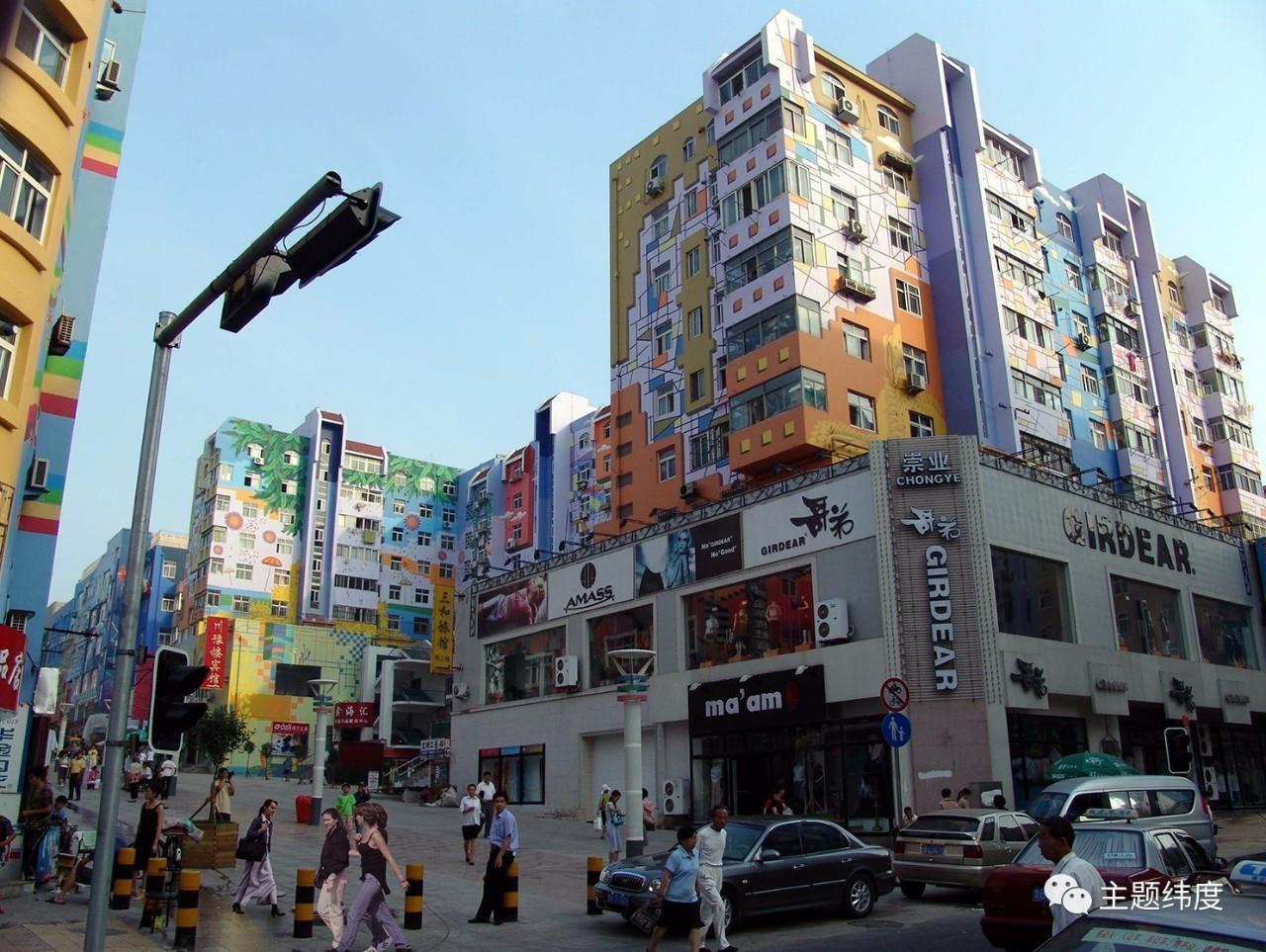 《2015中国公共艺术年鉴》作品选 | 青岛台东三路公共