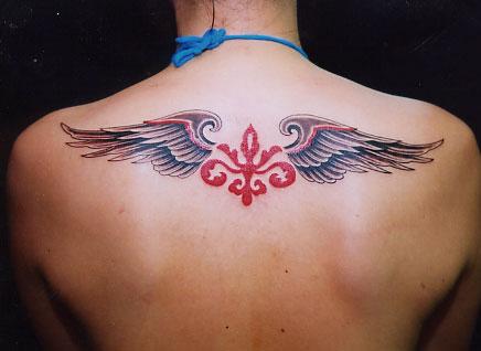 凤字体纹身图案