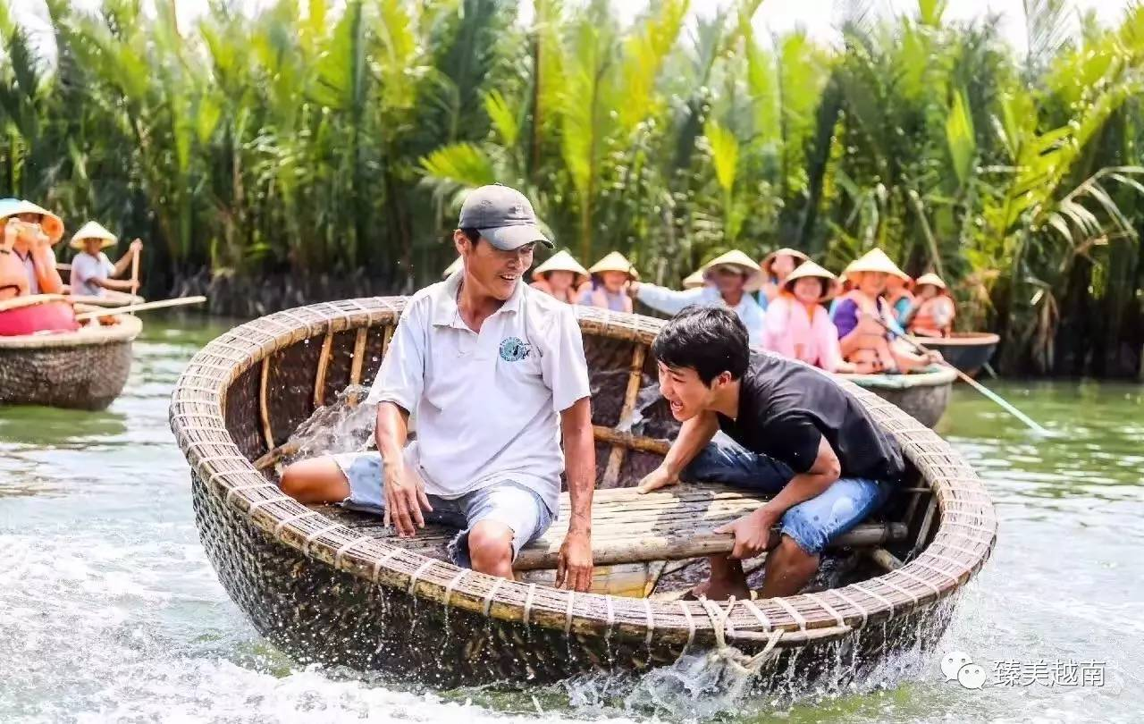 刻艺术;水椰林探险,追风原味越南——在 【迦南岛】上,迦南岛位于岘港