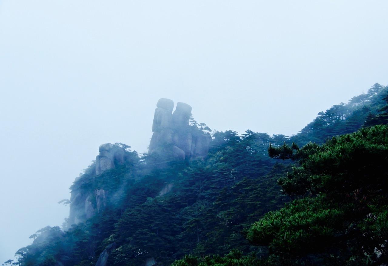 说不完的三清山,蓝天救援空中越野跑