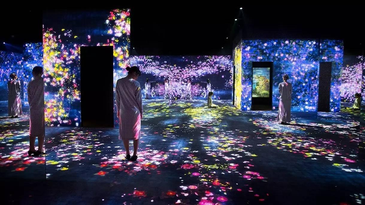 teamLab最大规模展览开幕 用数字艺术改造50万平米古代园林