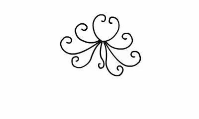 喜迎19大的简笔画-简笔画之花朵篇,看完后,你也能画得栩栩如生
