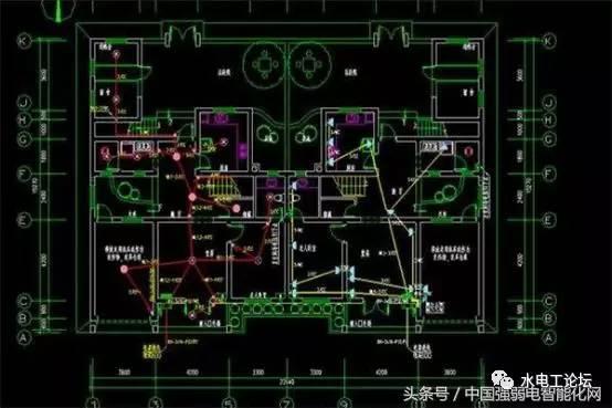 教你怎样看水电安装工程设计图纸,图纸符号代表什么?
