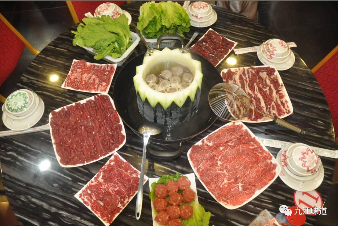 九江这家潮汕牛肉火锅店, 一头1000斤的牛,只取37%的肉涮火锅
