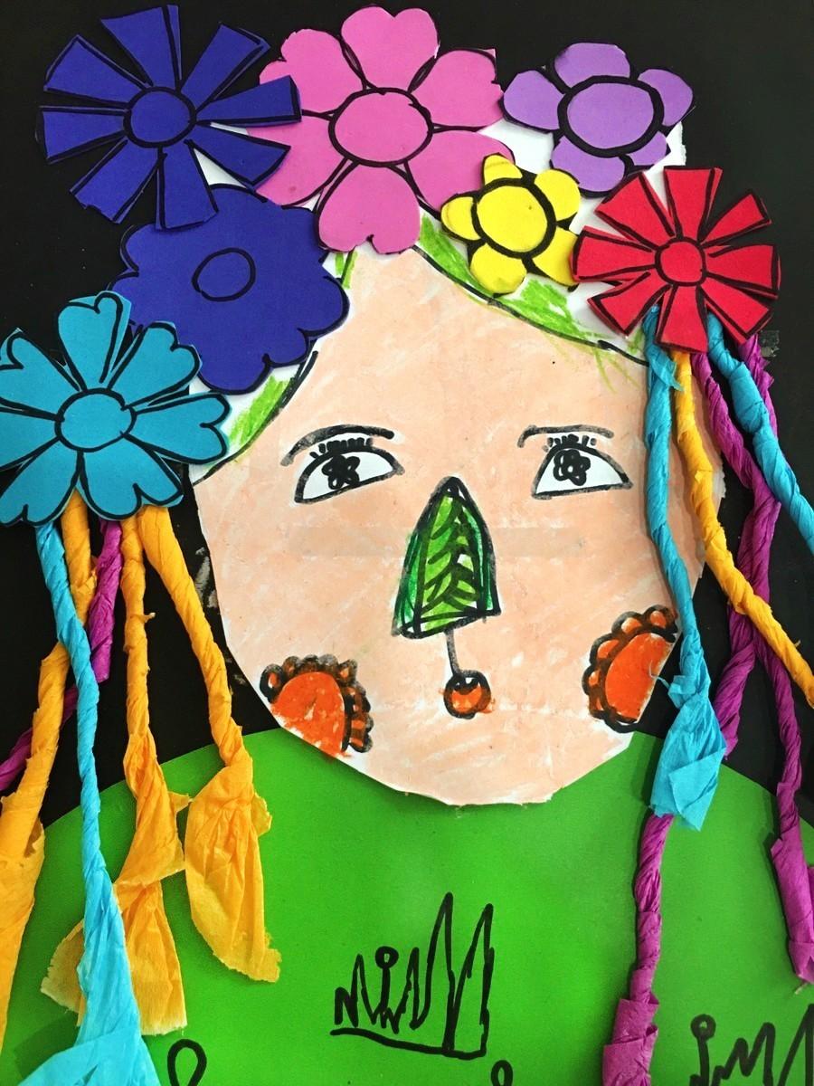 """《春姑娘》黄子轩 9岁   """"春姑娘""""浑身都是春天的气息   头上开满了小花朵"""