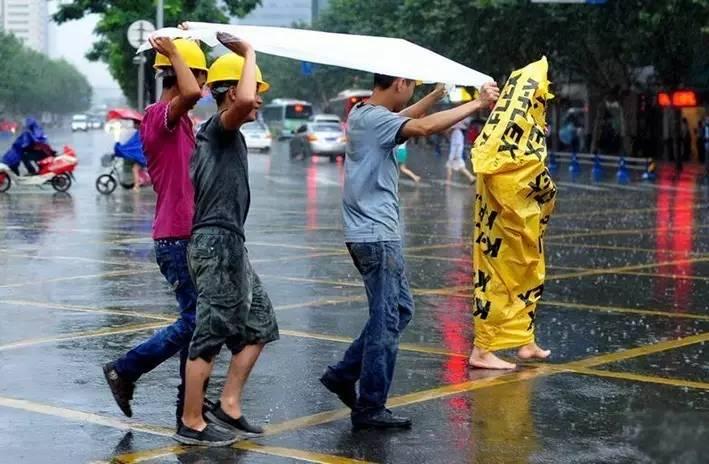 如果成都还有雷暴天气,请记住最安全的交通方式一定是它!