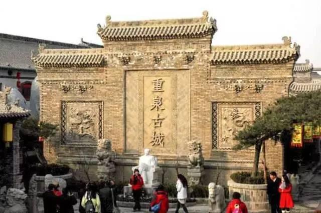 蒲城县:重泉古城,巴厘岛温泉,桥陵