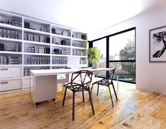 家居 设计 书房 装修 651_507